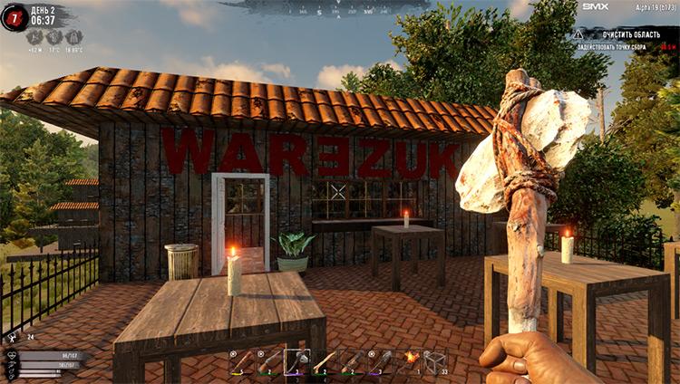 War3zuk 7 Days to Die Mod screenshot