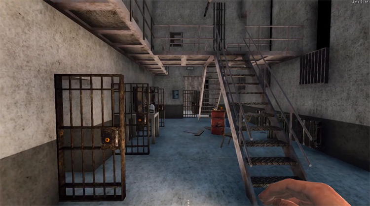The Walking Dead Prison Mod for 7DTD