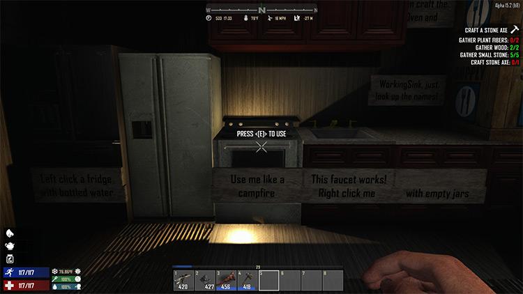 Working Ovens And Faucets 7 Days to Die Mod