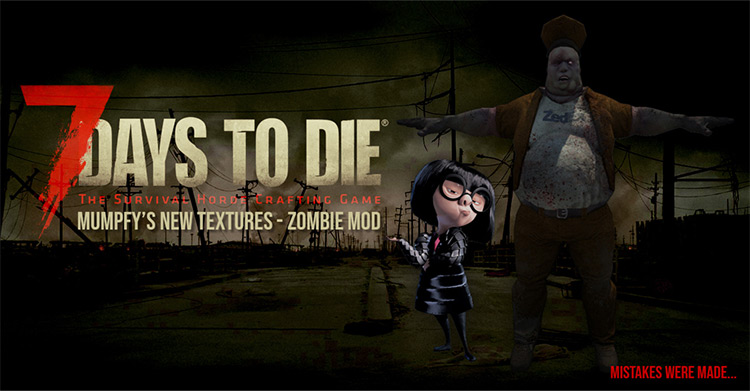 New Zombie Textures for 7 Days to Die