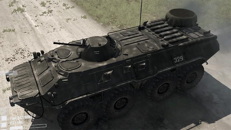 btr80 Mudrunner Mod screenshot
