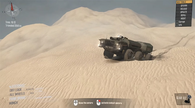 Dron MazzyRS Mod for Mudrunner