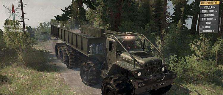 Kraz Monster Truck for Mudrunner