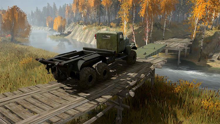 The Autumn Mudrunner Map