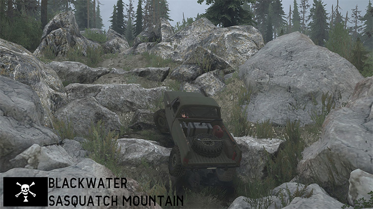 Sasquatch Mountain Mudrunner Map