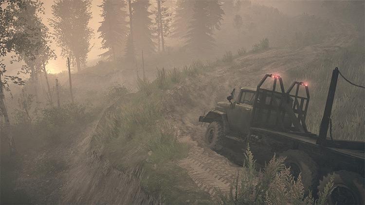Longridge Mudrunner Map screenshot