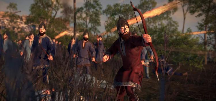 Anteans faction battle screenshot TW: Attila
