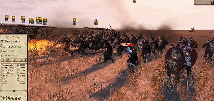 Alans Faction in Total War: Attila