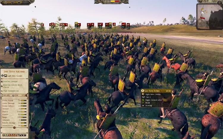 White Huns in Total War: Attila