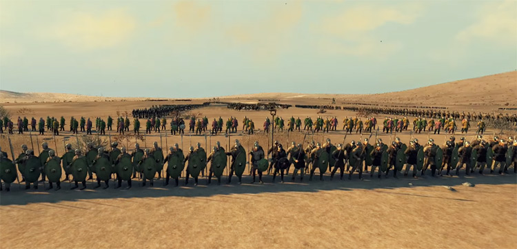Franks in Total War: Attila