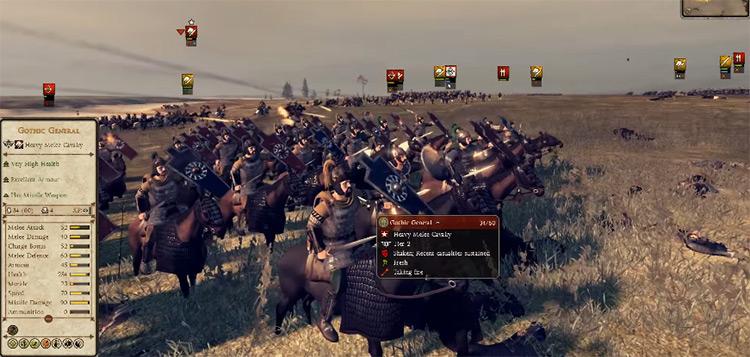 Ostrogoths Faction in Total War: Attila
