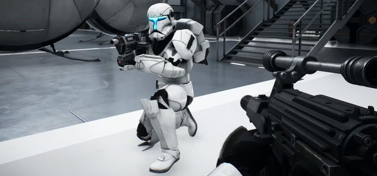 Storm Trooper Clone Commando - BF2 Screenshot