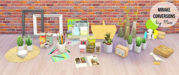 Mirake Conversions Sims 4 CC