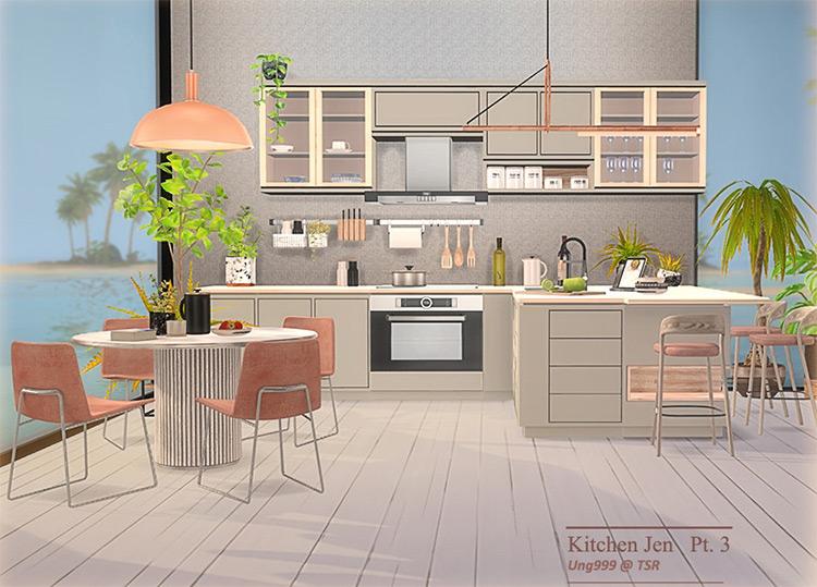Kitchen Jen Part 3 Sims 4 CC