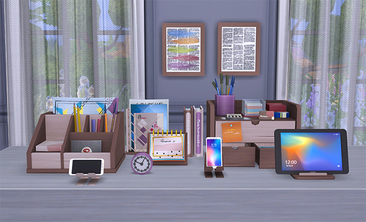 Alberta Decor Sims 4 CC screenshot