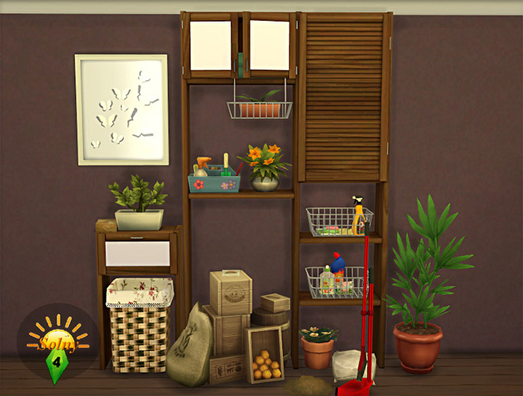 Boxroom Decorative Set for Sims 4