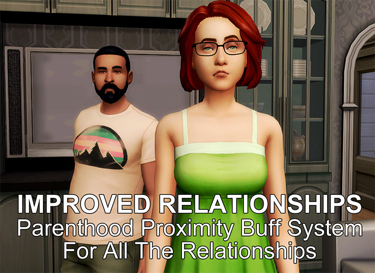 Improved Relationships Sims 4 mod