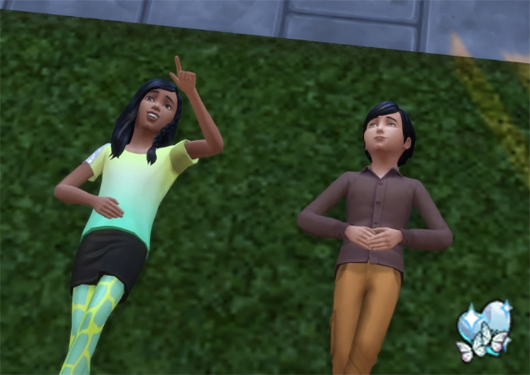 First Love Sims 4 mod