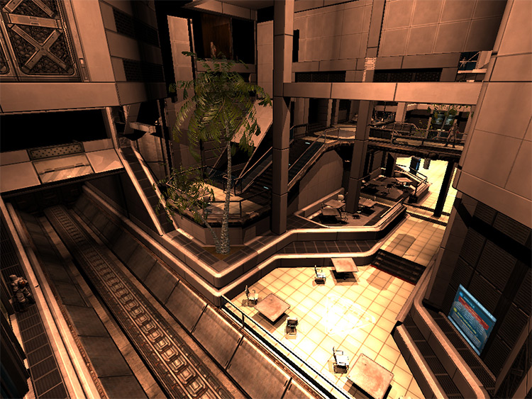 Total Recall Doom 3 Mod Lobby screenshot