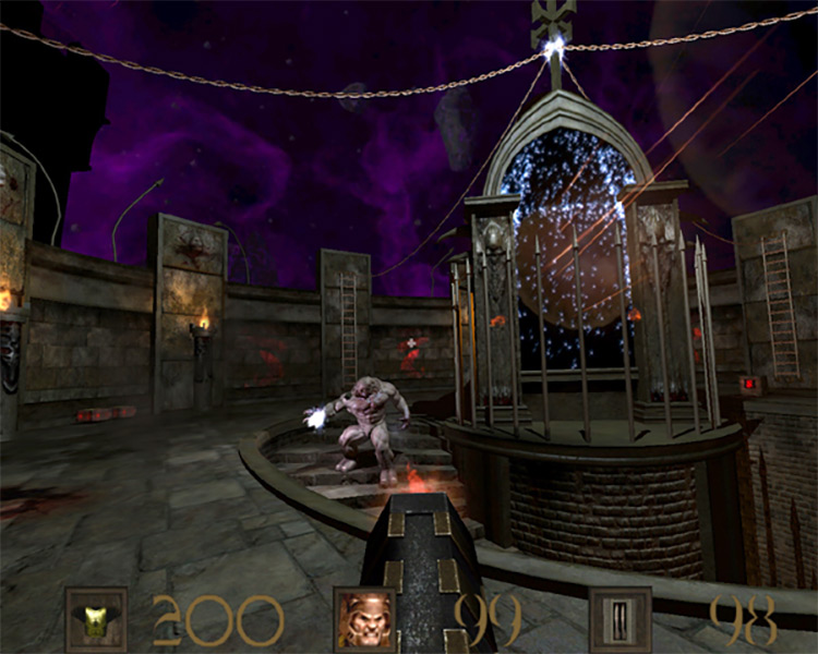 Shambler castle gameplay screenshot