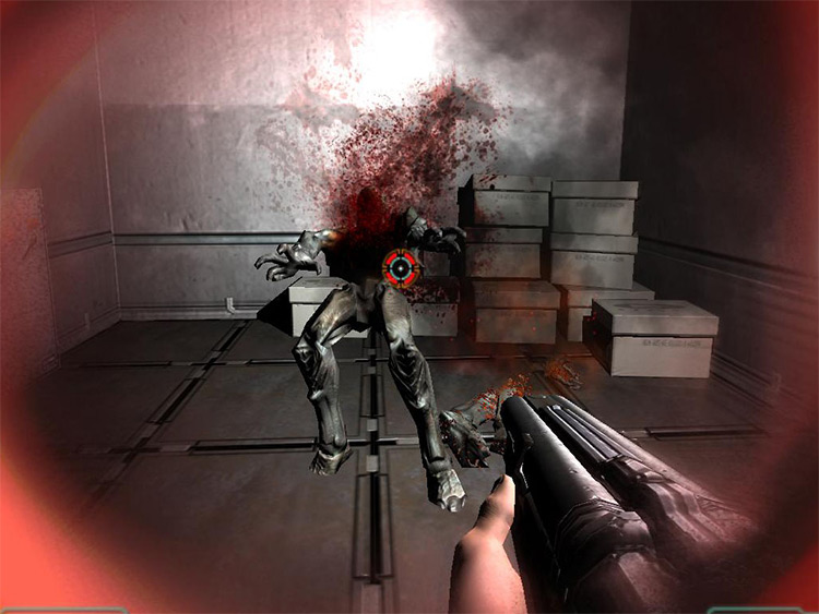Realistic Weapons Doom 3 - screenshot