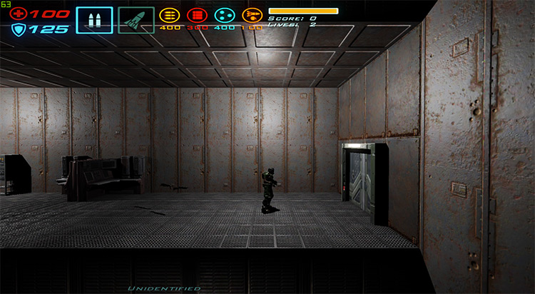 Hard Corps Doom 3 Mod gameplay screenshot