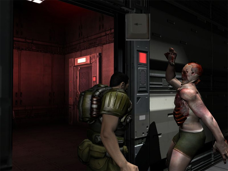 Zombie Slayer Doom 3 Mod screenshot