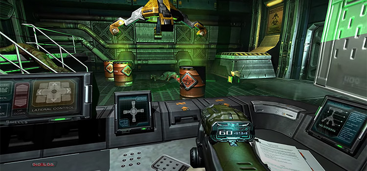 Doom 3 Trent Reznor soundpreview - game screenshot