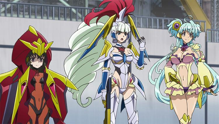Senki Zesshou Symphogear Anime screenshot