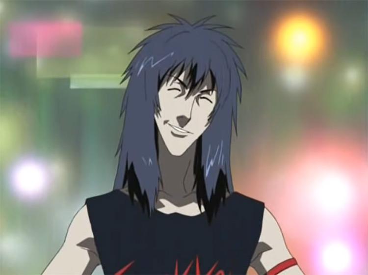 Legend of Black Heaven Anime long haired man