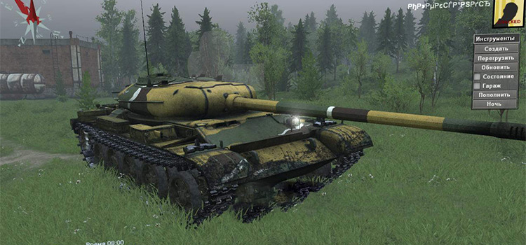 Russian Tank Mod for Spintires