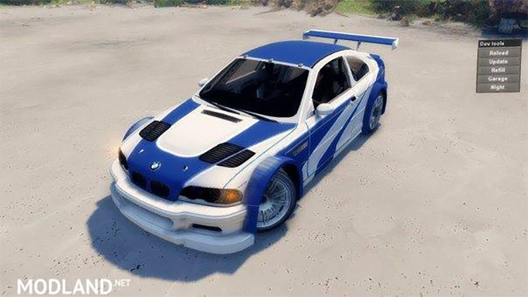 BMW M3 2004 game screenshot