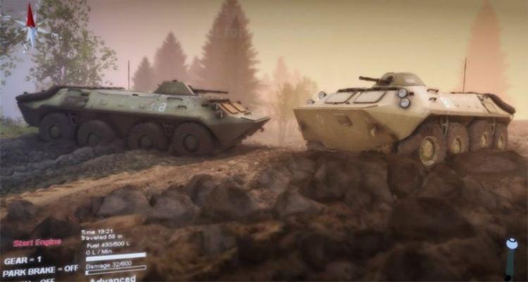 BTR-70 (STALKER) v1.5 Mod gameplay screenshot