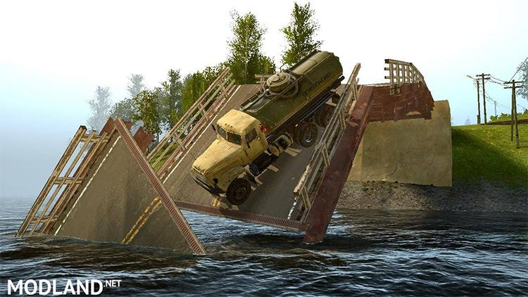 Ghost Town Mod falling bridge screenshot
