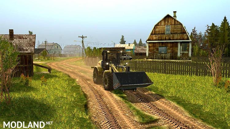 Last Hope Spintires Mod truck screenshot