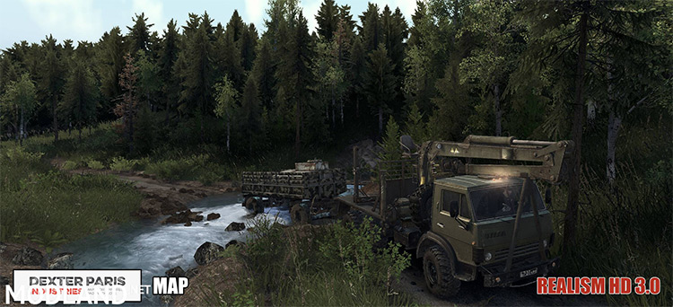 Spintires Realism HD Spintires Mod Trees screenshot