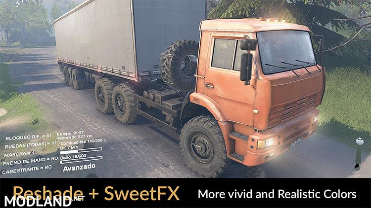 Reshade SweetFX Final Mod Truck screenshot