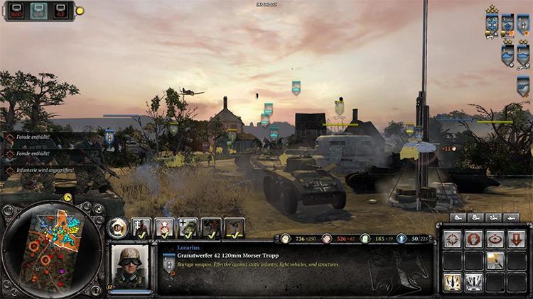 Wikinger: European Theater of War Mod gameplay