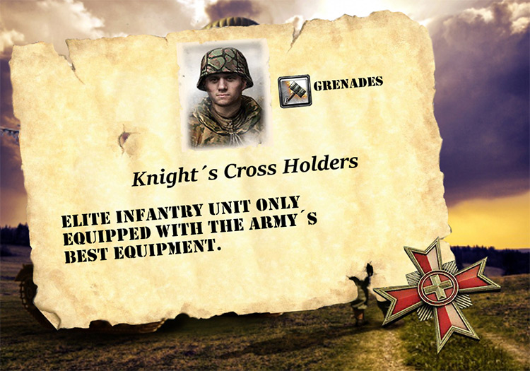The First Reinforcements CoH2 Mod title