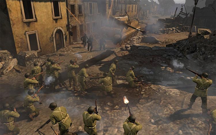 Battleground: Europe Company of Heroes 2 Mod screenshot