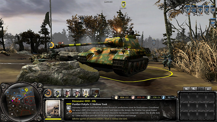 The Advanced Powers Mod tank gameplay screenshot
