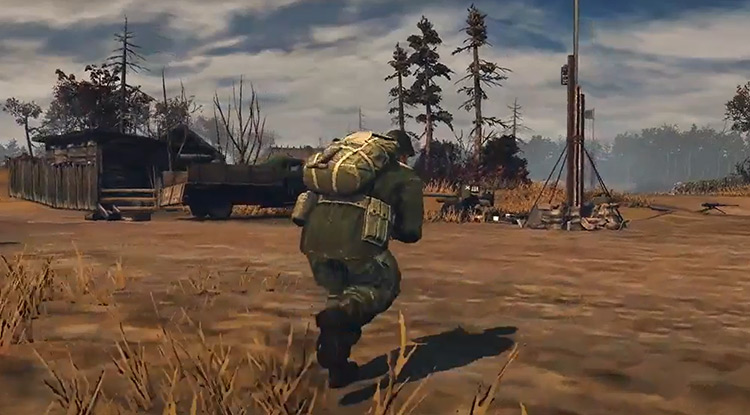 DropZone Mod character running