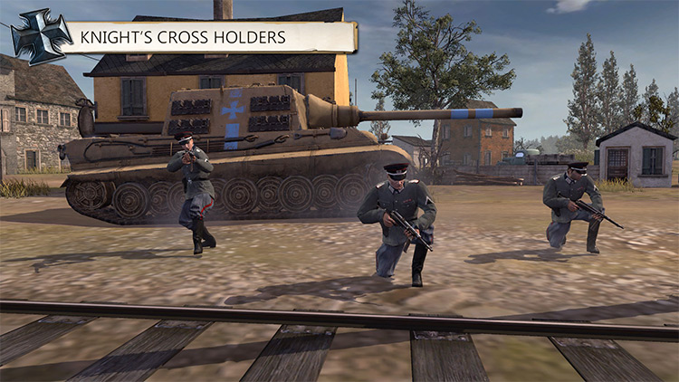 Historical Commanders CoH2 Mod knights cross holders