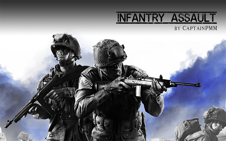Infantry Assault Company of Heroes 2 Mod title