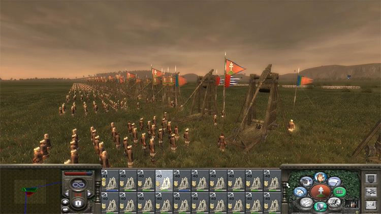 Medieval II: Total War catapult screenshot