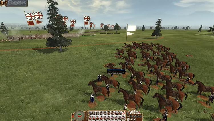 Empire: Total War cavalry screenshot