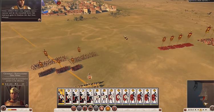 Total War: Rome II gameplay