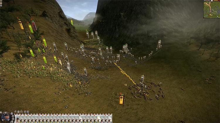 Total War: Shogun 2 gameplay campaign screenshot