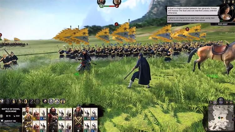 Total War: Three Kingdoms battle screenshot
