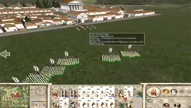 Rome: Total War gameplay